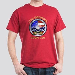 USS Georgia SSGN 729 Dark T-Shirt